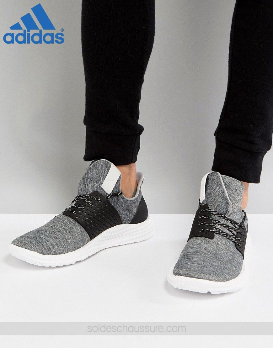 [Adidas Boutique En Ligne] - Adidas Training Athletics 24 Gris - [Adidas Boutique En Ligne] Adidas Training Athletics 24 Gris-01-0